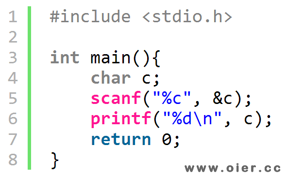 NOI1.2-07打印ASCII码