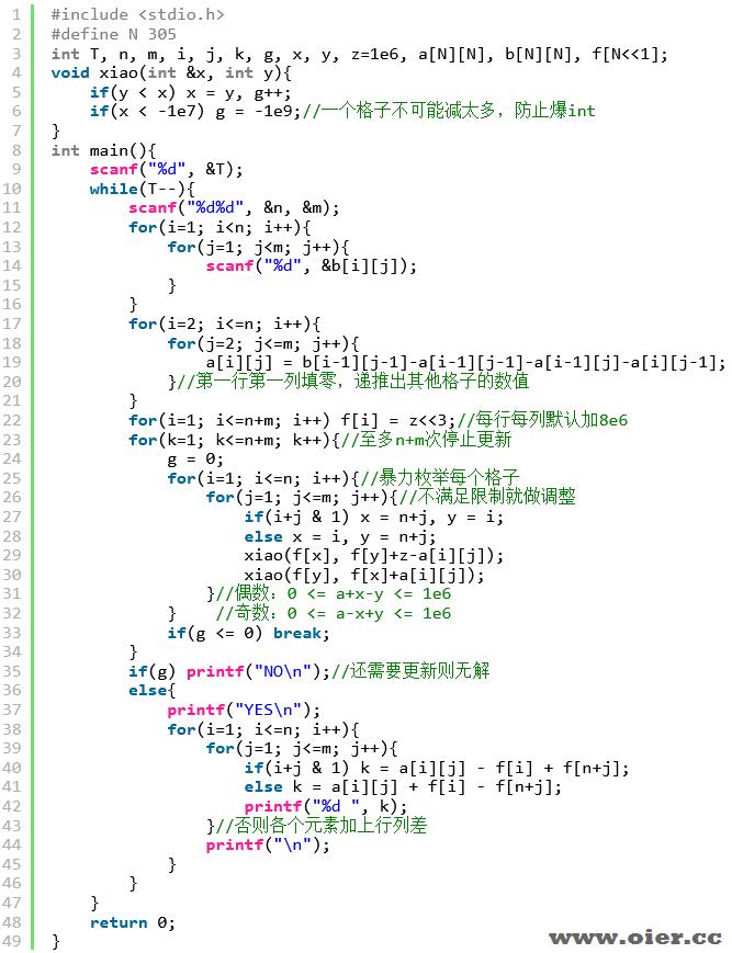 洛谷P7515[省选联考2021A卷]矩阵游戏